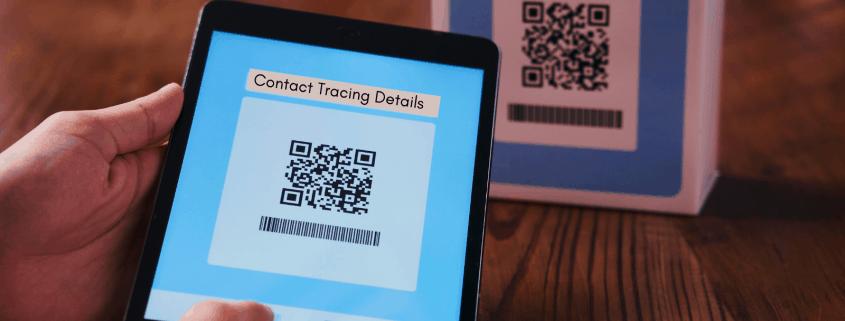 QR Contact Tracing Code